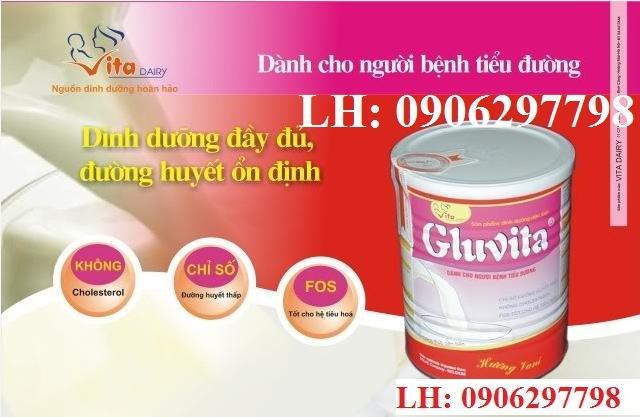 Sữa tiểu đường Gluvita