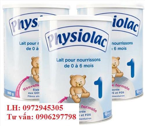 Mua sữa Physiolac 1 ở đâu, giá bao nhiêu