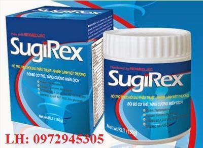Sữa cho bệnh nhân sau phẫu thuật Sugirex