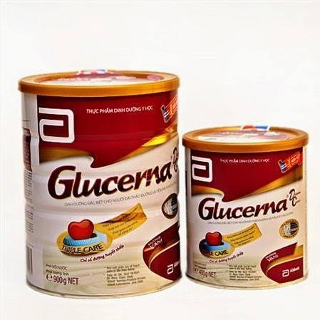 Sữa Glucerna cho bệnh nhân tiểu đường 400g, 850g, 900g mua ở đâu, giá bao nhiêu
