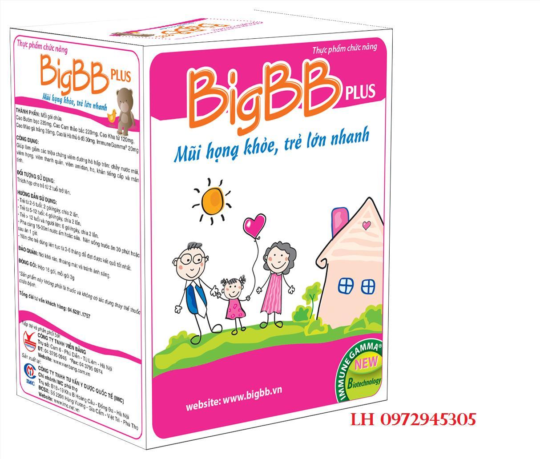 Cốm BigBB Plus mua ở đâu, giá bao nhiêu?