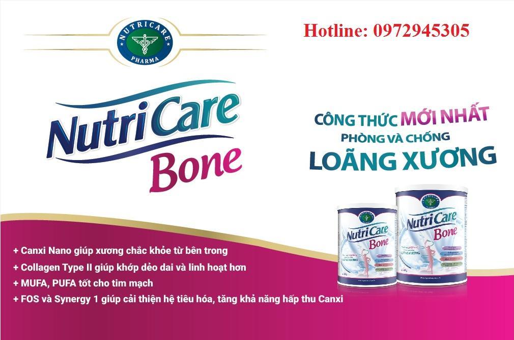 Sữa Nutricare Bone mua ở đâu, giá bao nhiêu?