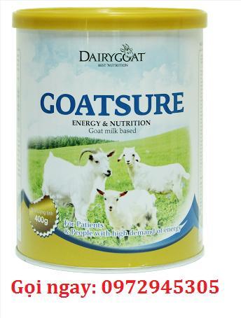 Sữa dê Goatsure mua ở đâu, giá bao nhiêu?