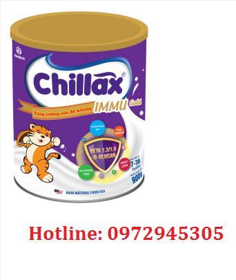 Sữa Chillax Immu gold mua ở đâu, giá bao nhiêu?