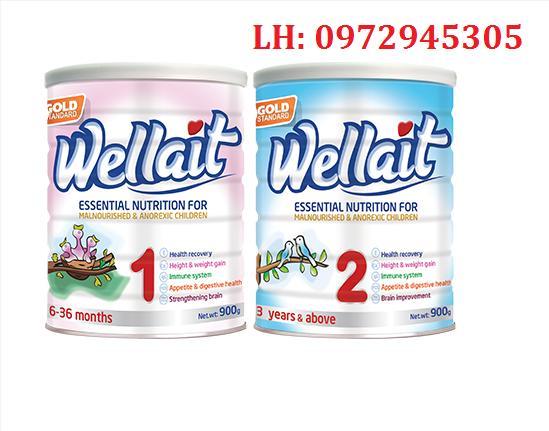 Sữa Wellait 1, sữa Wellait 2 mua ở đâu, giá bao nhiêu?
