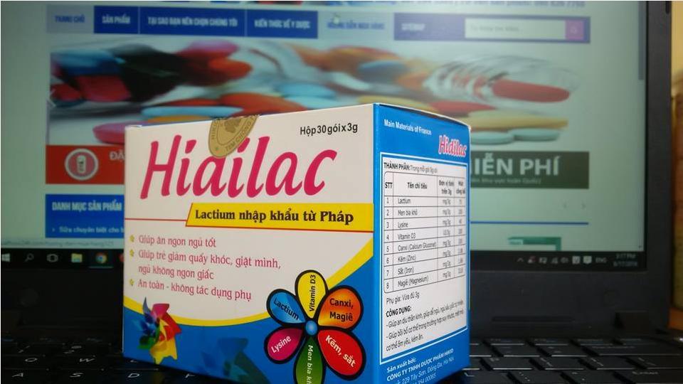 Thuốc Hidilac dành cho trẻ em mua ở đâu, giá bao nhiêu?