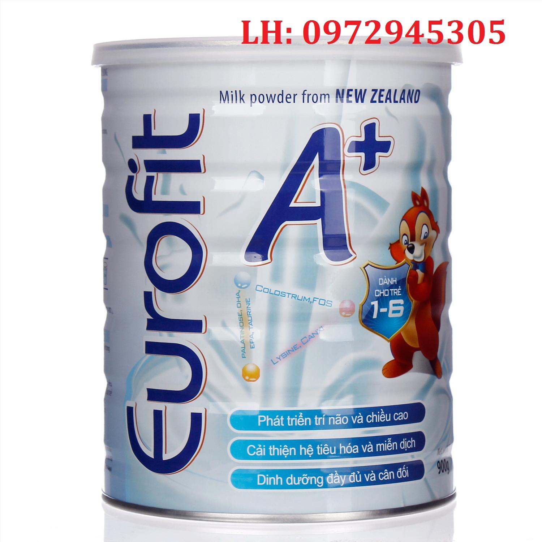 Sữa EuroFit A+ mua ở đâu, sữa Euro Fit A+ giá bao nhiêu?
