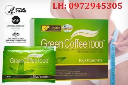 Mua trà giảm cân Green Coffee 1000 ở đâu, giá bao nhiêu?