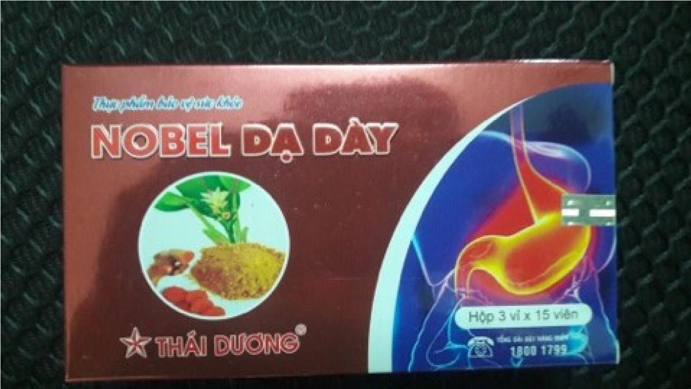 Nobel dạ dày, thuốc Nobel dạ dày, Nobel dạ dày mua ở đâu, Nobel dạ dày giá bao nhiêu?