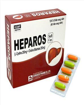 Thuốc Heparos mua ở đâu giá bao nhiêu