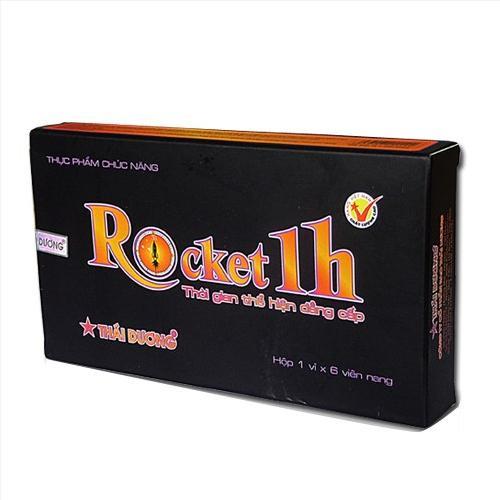 Thuốc Rocket 1h mua ở đâu? Thuốc Rocket 1h thể hiện sức mạnh nam giới