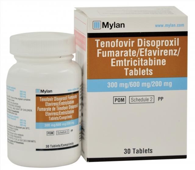 Thuốc TENOFOVIR DISOPROXIL FUMARATE/EFAVIRENZ/EMTRICITABINE mua ở đâu giá bao nhiêu?