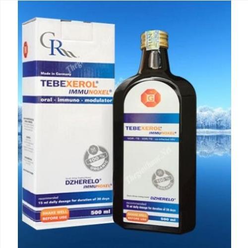 Thuốc Tebexerol Immunoxel giá bao nhiêu, Tebexerol Immunoxel 500ml  mua ở đâu?