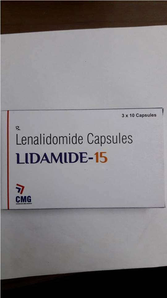 Thuốc Lidamide 15 (Lenalidomide 15mg) mua ở đâu giá bao nhiêu?