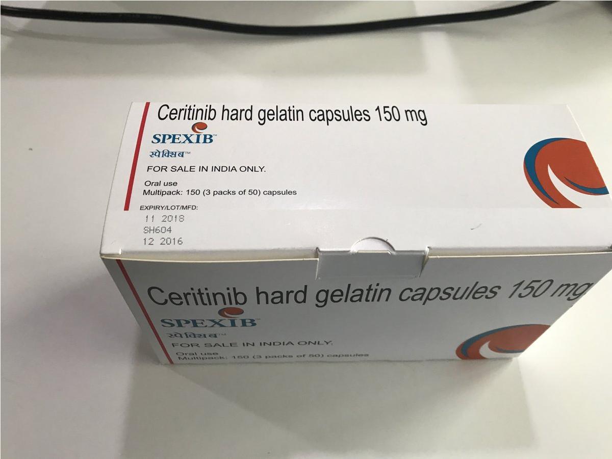 Thuốc Spexib (Ceritinib) mua ở đâu giá bao nhiêu?