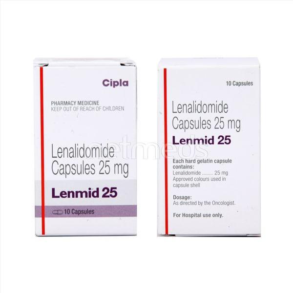 Thuốc Lenmid (Lenalidomide) mua ở đâu giá bao nhiêu?