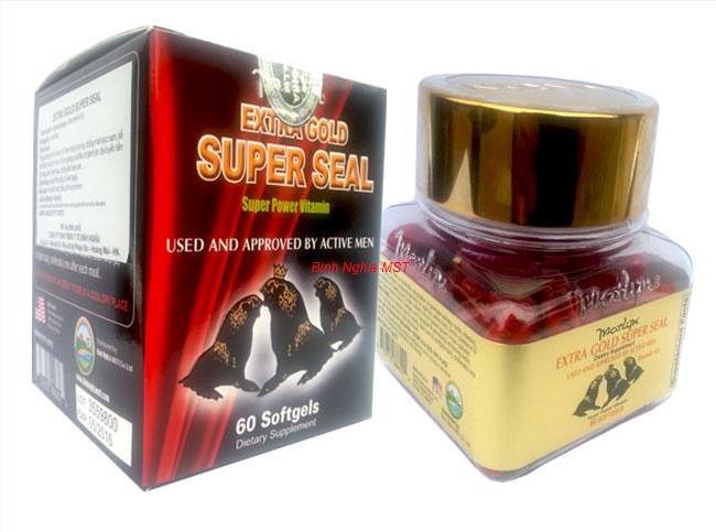 Thuốc Extra Gold Super Seal hải cẩu hoàn mua ở đâu giá bao nhiêu