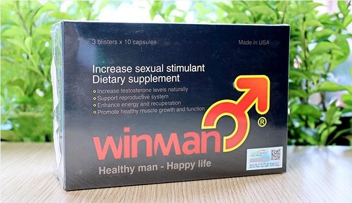 Thuốc Winman mua ở đâu, giá bao nhiêu?