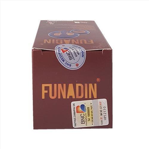 Thuốc giải độc gan Funadin, giá thuốc Funadin