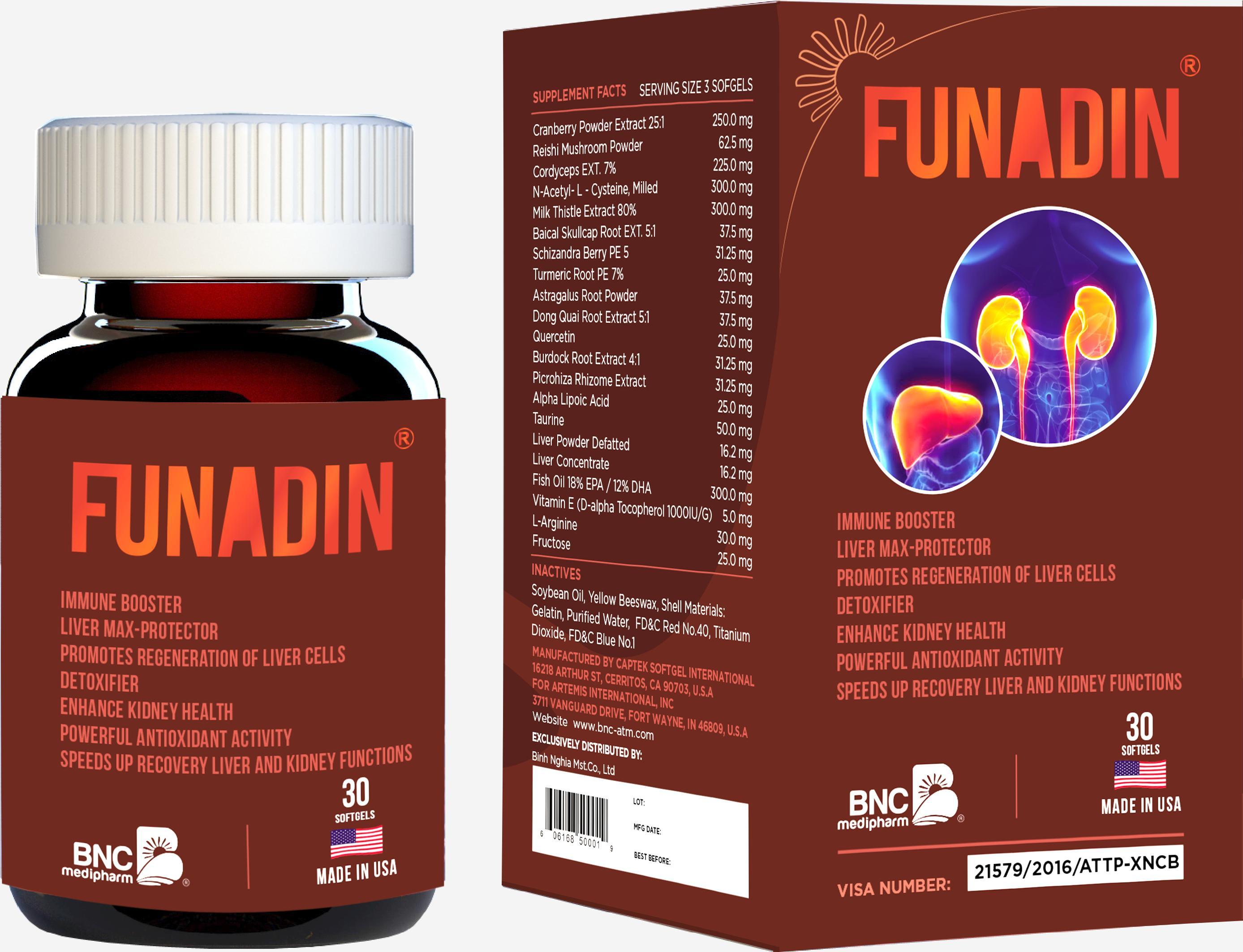 Thuốc Funadin mua ở đâu, giá bao nhiêu?