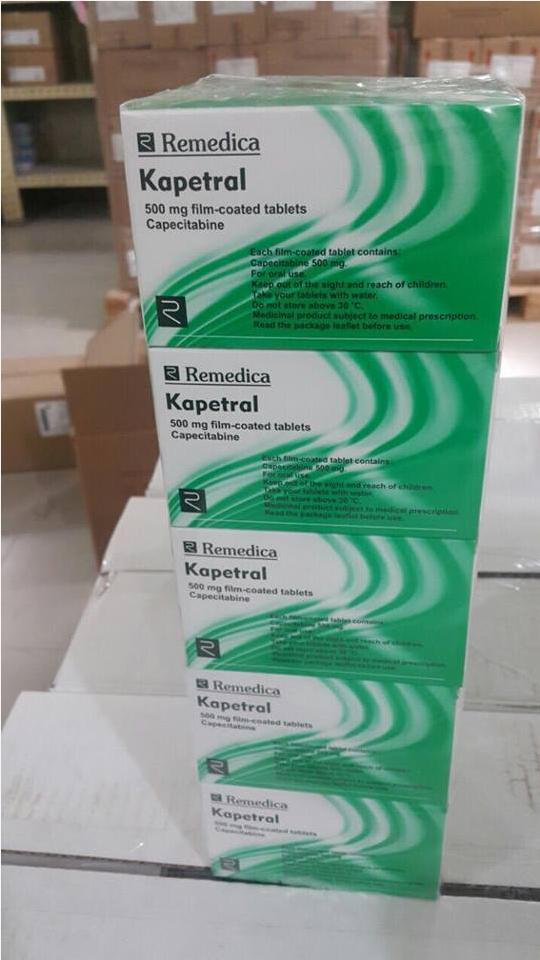 Thuốc kapetral 500mg (Capecitabine  500mg) mua ở đâu giá bao nhiêu?