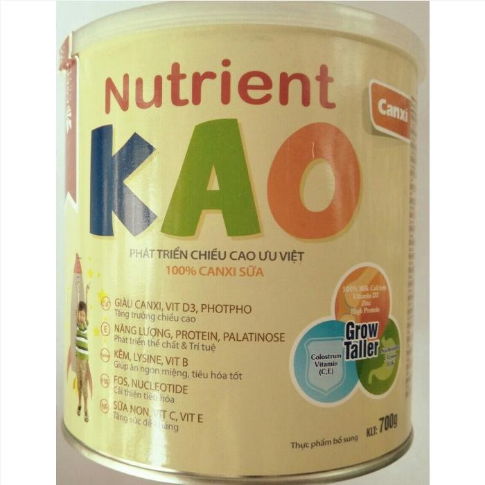 Sữa nutrient KAO mua ở đâu, sữa nutrient KAO viện dinh dưỡng khuyên dùng