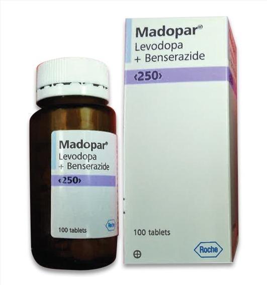 Thuốc Madopar 250mg 500mg  mua ở đâu giá bao nhiêu