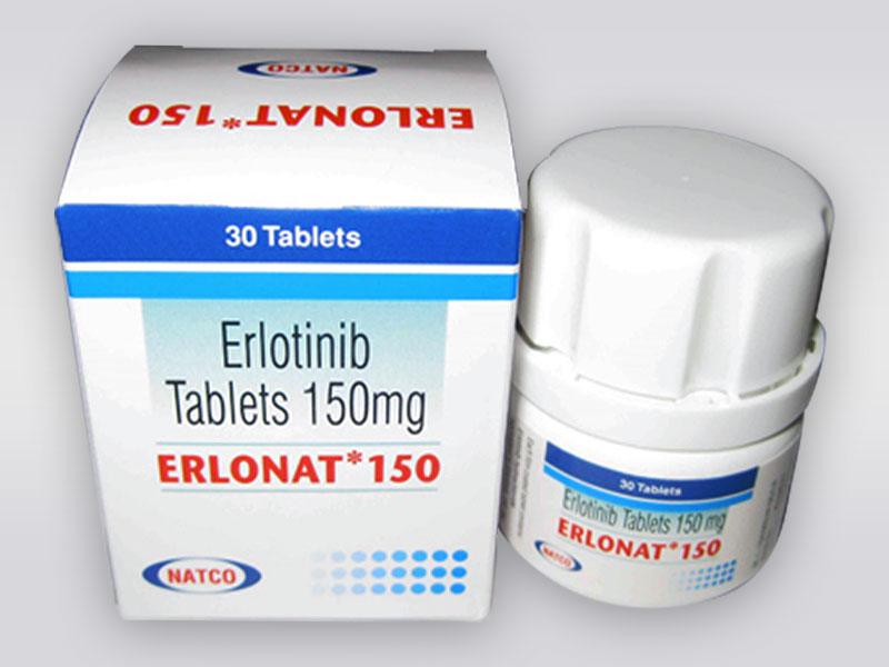 Thuốc Erlonat 150mg và thuốc Geftinat thuốc đích điều trị ung thư phổi.