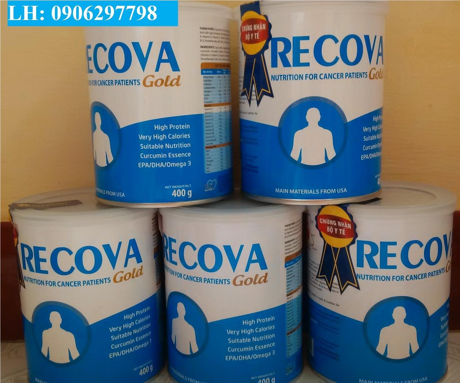 Phân phối sữa Recova Gold cho bệnh nhân ung thư