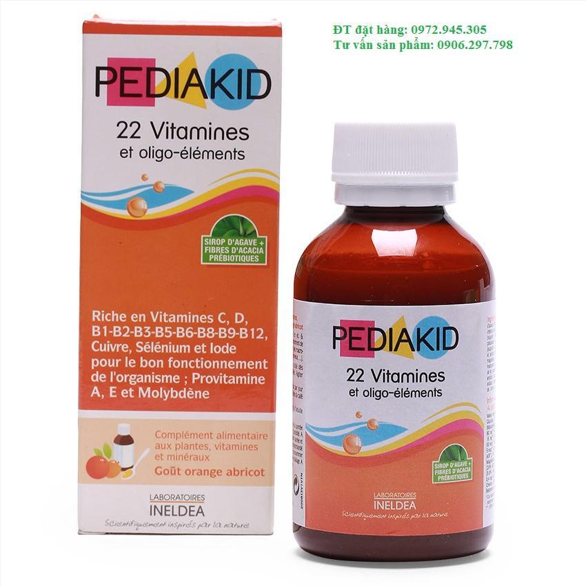 Phân phối Pediakid 22 vitamin và khoáng chất