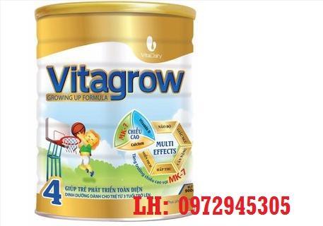 Sữa VitaGrow mua ở đâu, giá bao nhiêu?