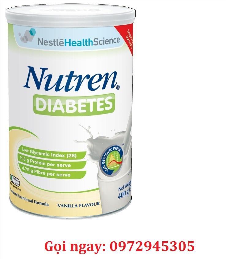 Sữa Nutren Diabetes cho bệnh nhân tiểu đường mua ở đâu?