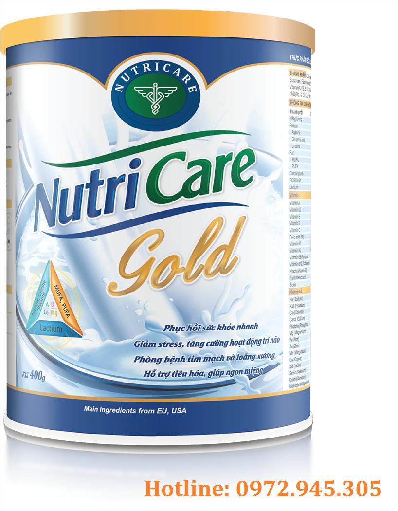 Sữa Nutricare gold mua ở đâu, giá bao nhiêu?
