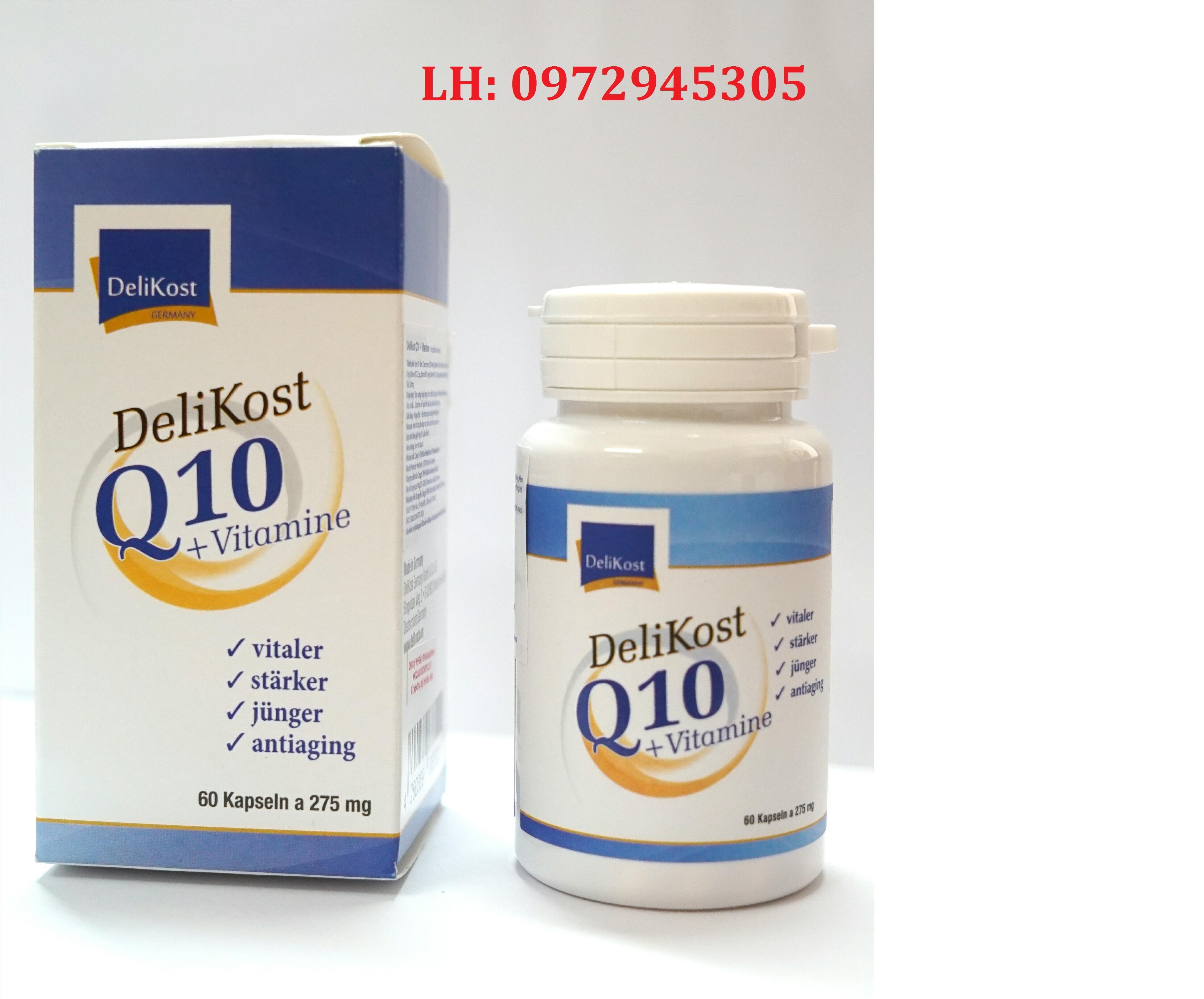 Viên uống bổ sung Delikost Q10 + Vitamine mua ở đâu?