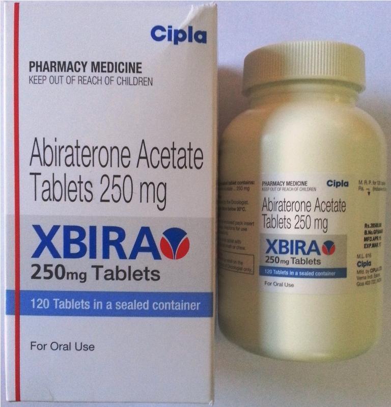 Thuốc Xbira (Abiraterone Acetate) điều trị ung thư tiền liệt tuyến mua ở đâu giá bao nhiêu?