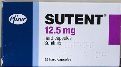Thuốc SUTENT Sunitinib mua ở đâu giá bao nhiêu?