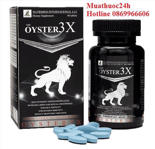 Oyster 3X mua ở đâu, giá bao nhiêu, thuốc Oyster 3X?