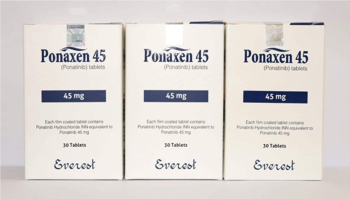 Thuốc Ponaxen Ponatinib giá bao nhiêu mua ở đâu?