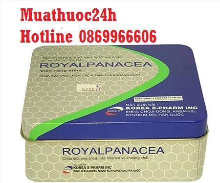 Thuốc RoyalPanacea giá bao nhiêu, mua ở đâu?