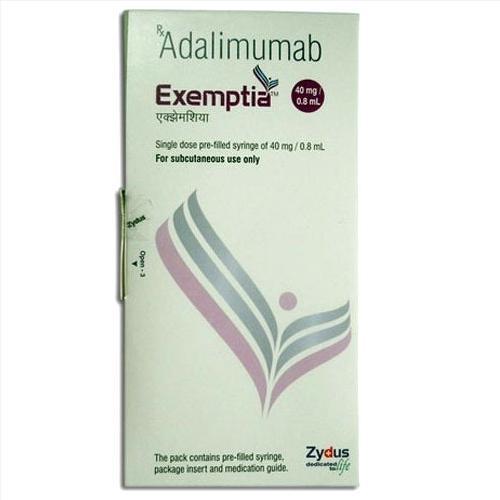 Thuốc Exemptia Adalimumab giá bao nhiêu mua ở đâu?