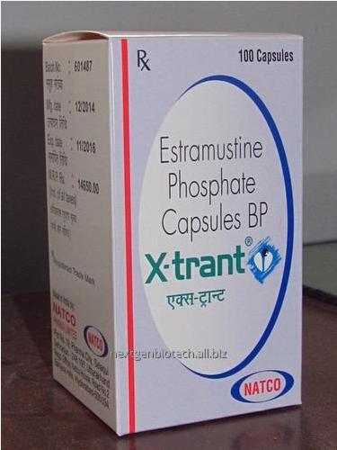 Thuốc xtrant Estramustine 140 mg giá bao nhiêu mua ở đâu?