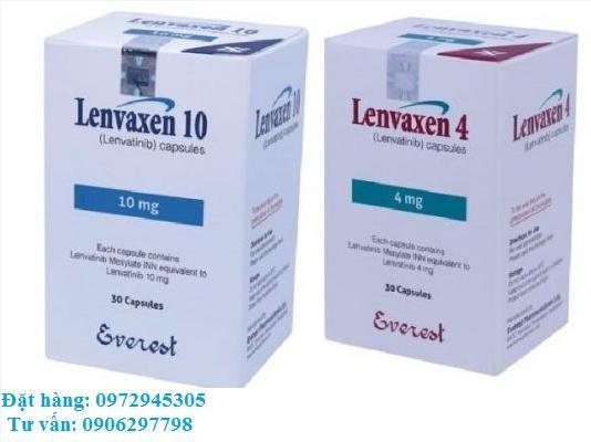 Thuốc Lenvaxen Lenvatinib 4mg giá bao nhiêu mua ở đâu?