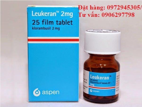 Thuốc Leukeran Chlorambucil 2mg giá bao nhiêu mua ở đâu điều trị bệnh gì?