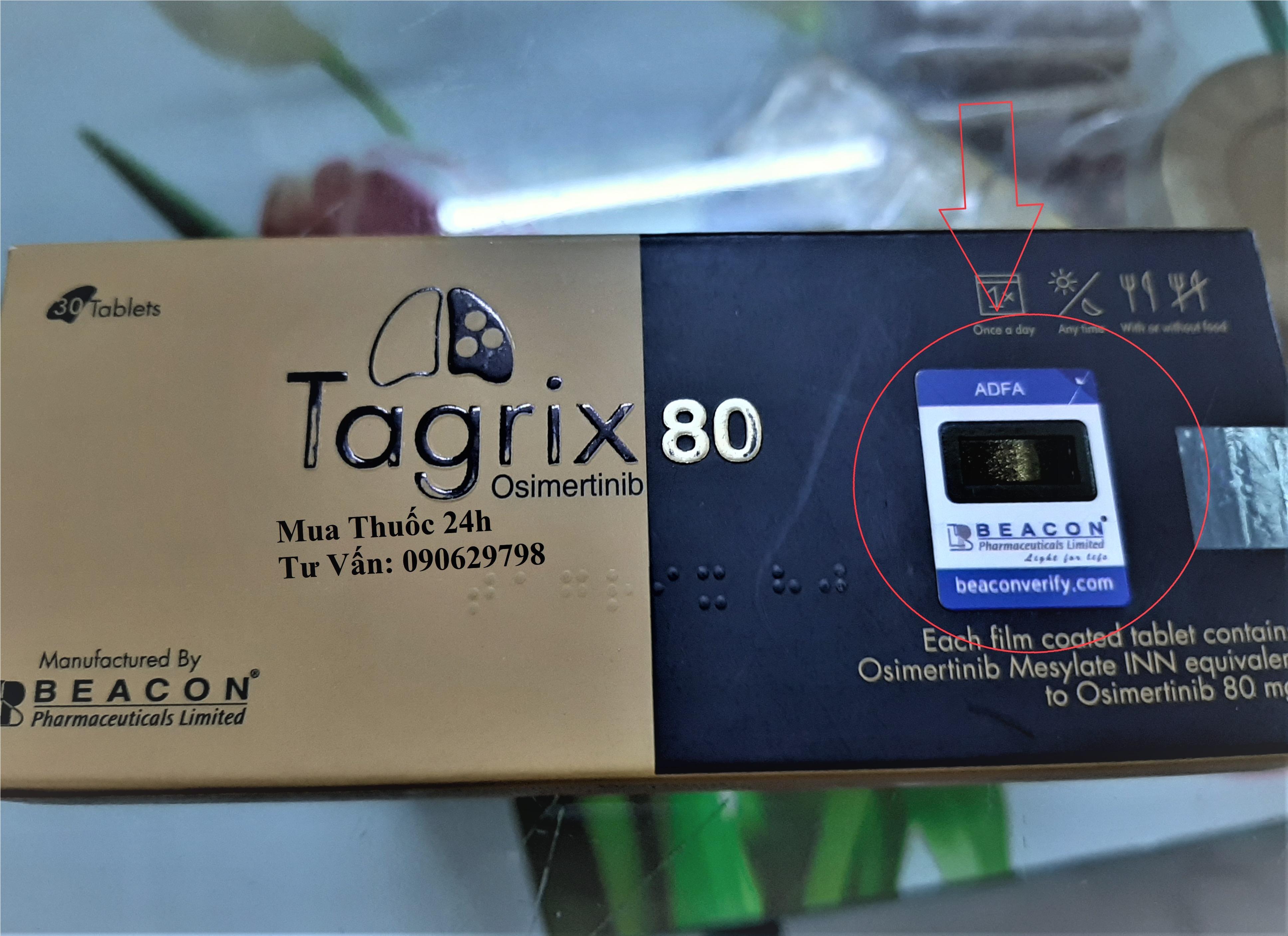 Thuốc Tagrix 80mg mua ở đâu, thuốc Tagrix giá bao nhiêu?