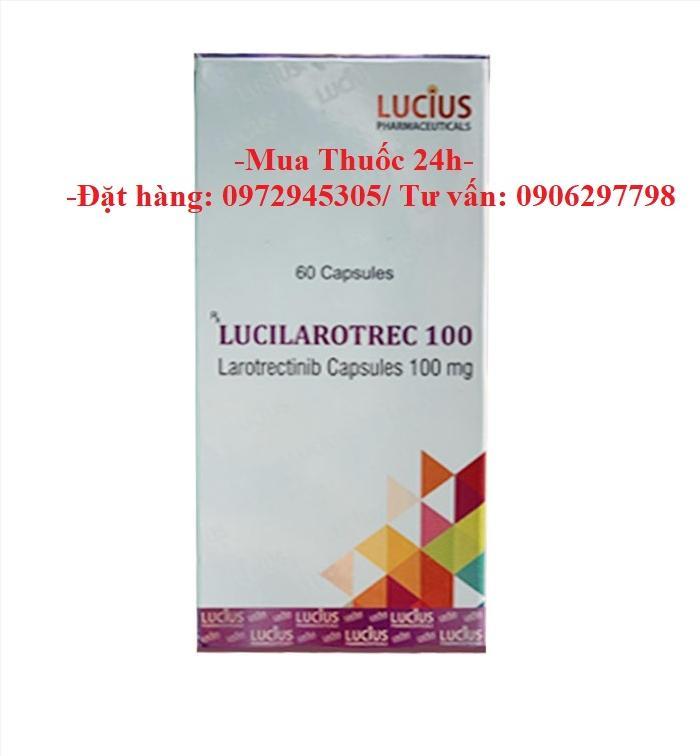Thuốc Lucilarotrec Larotrectinib 100mg giá bao nhiêu mua ở đâu