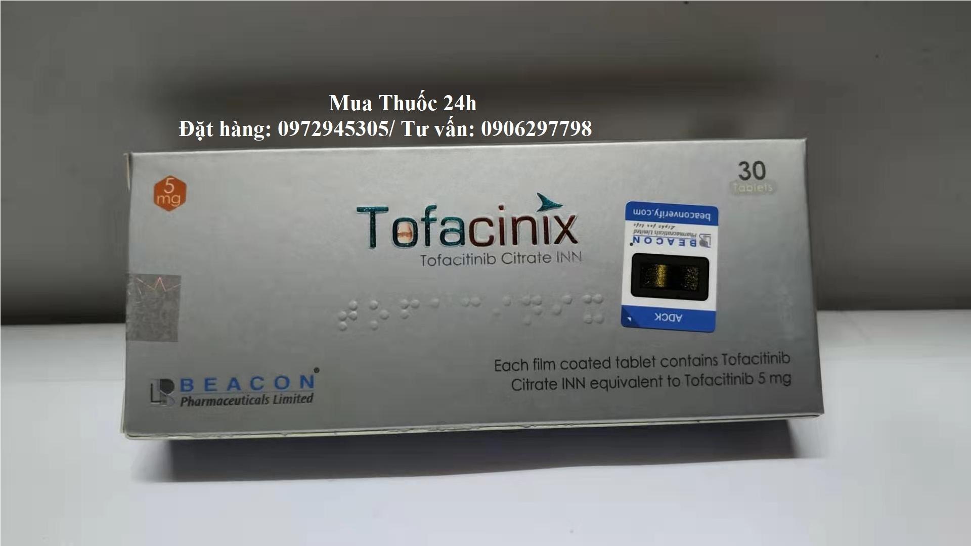 Thuốc Tofacinix Tofacitinib 5mg giá bao nhiêu mua ở đâu