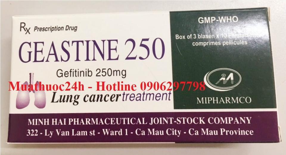 Thuốc Geastine 250  giá bao nhiêu mua ở đâu?