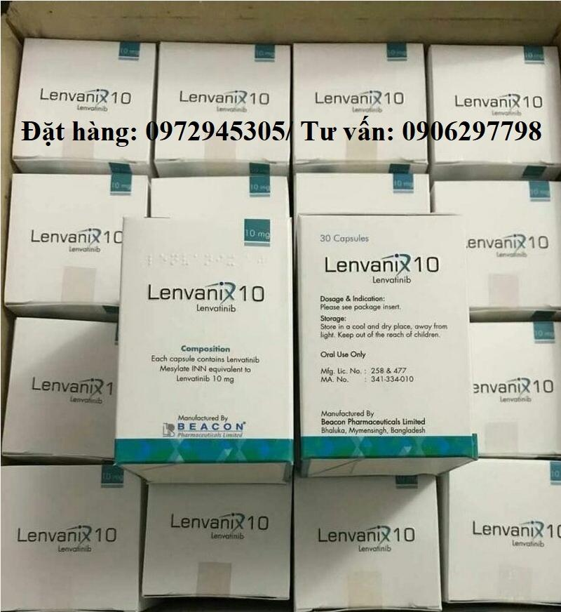 Thuốc Lenvanix 4 mg mua ở đâu, giá bao nhiêu?