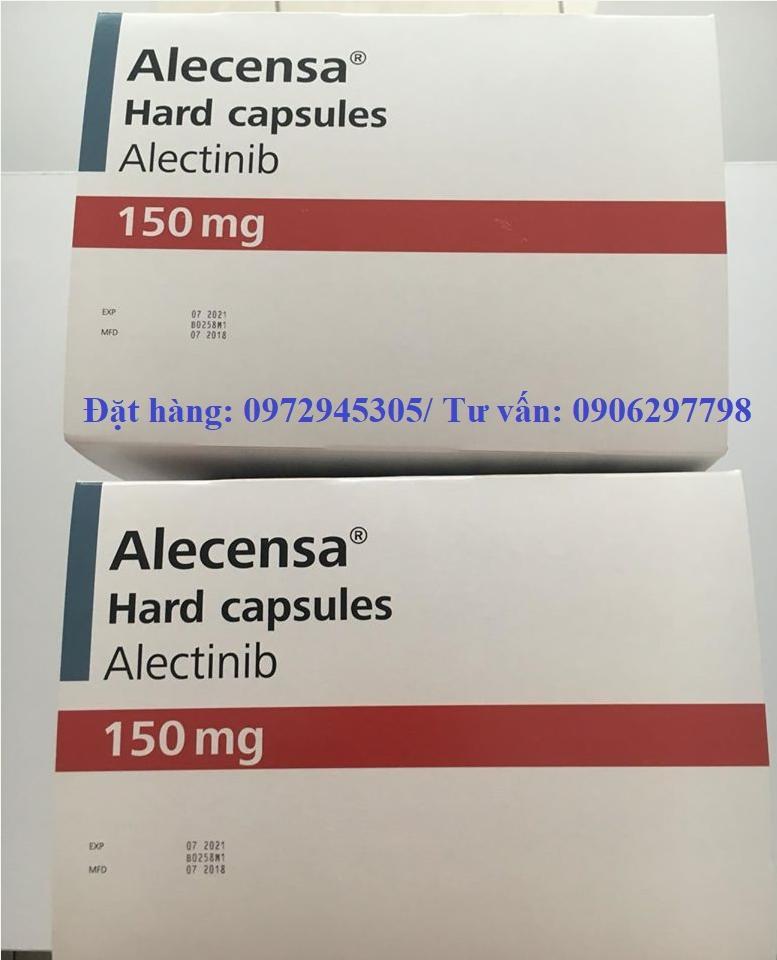 Thuốc Alecensa (alectinib) điều trị ung thư phổi mua ở đâu giá bao nhiêu