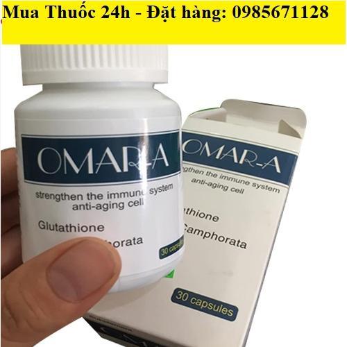 Thuốc Omar A giá bao nhiêu mua ở đâu, Omar A ngăn ngừa lão hóa da hiệu quả